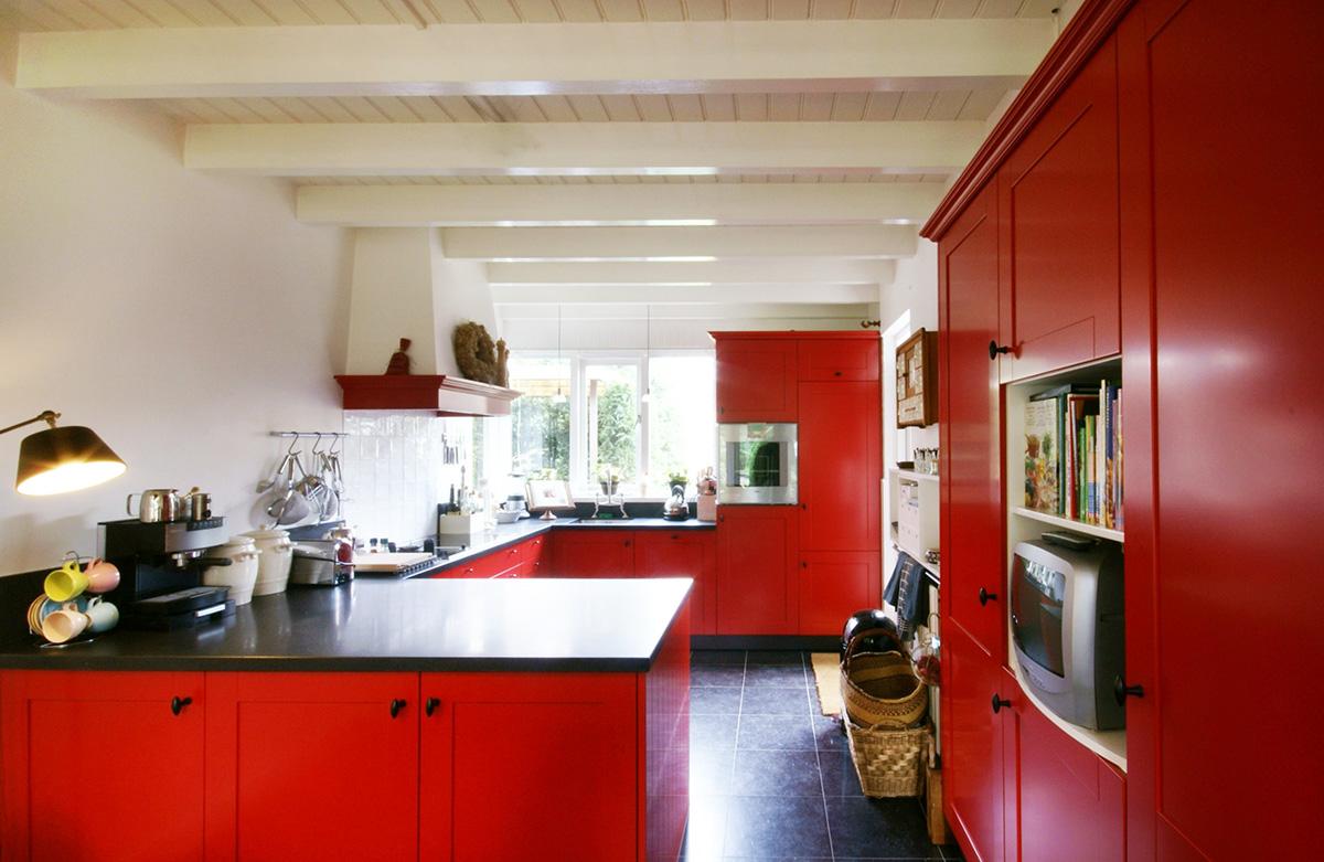 Nostaligsche keuken afbeelding 2